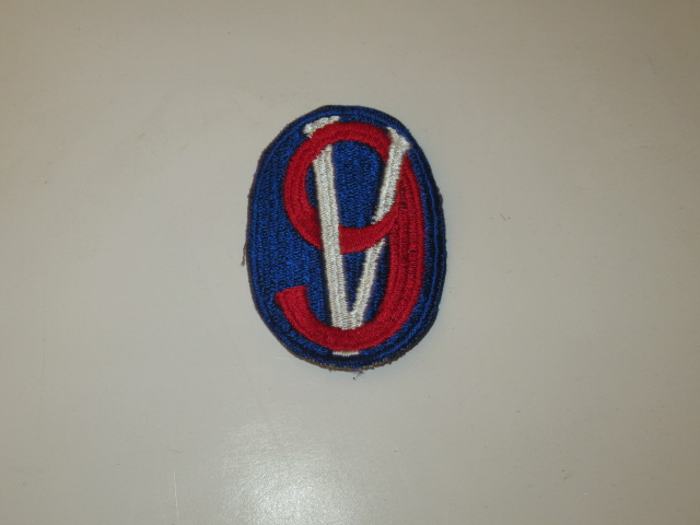 95TH INFANTRY DIVISION SHOULDER PATCH, NOS WWII - Click Image to Close