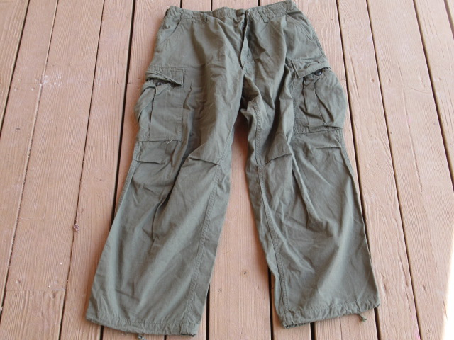 OG-107 TROPICAL TROUSERS, LARGE SHORT, 1969 - Click Image to Close